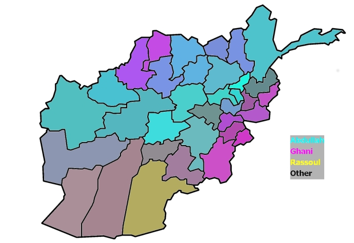 Afghanistan Election Relative Vote