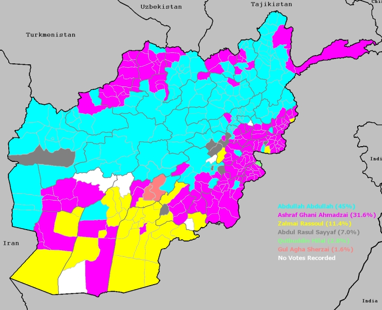 Afghanistan Elections Districts