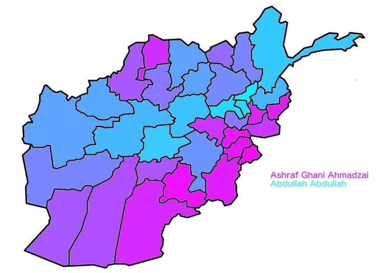 Afghanistan Runoff Preliminary Relative